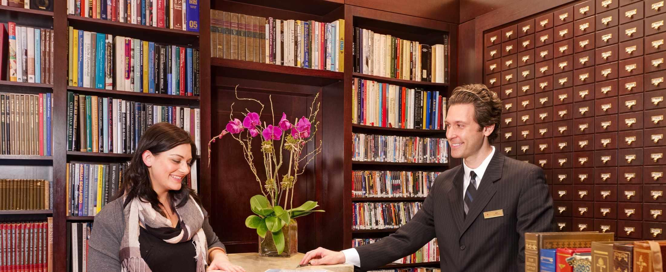 The Library Hotel Staff is dedicated to delivering the ultimate travel experience for each guest!