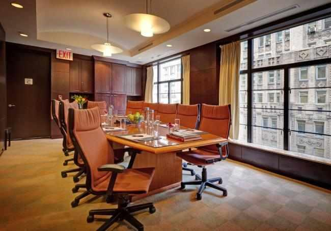 The Library Hotel's Executive Inspiration Boardroom can be the perfect place to host your next corporate meeting!
