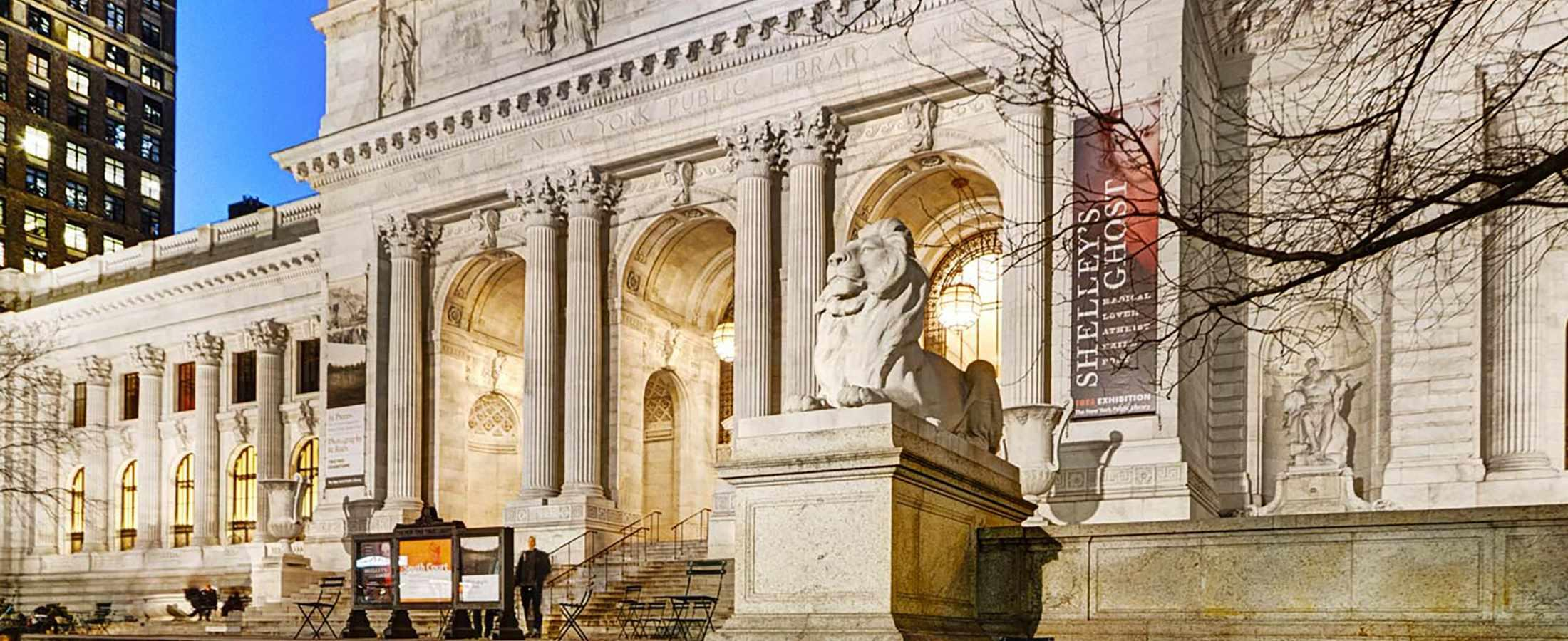 The Library Hotel is just steps from the iconic New York Public Library!