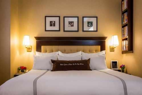 Library Hotel guestrooms have plush robes and cozy slippers for our guests to enjoy throughout their stay.