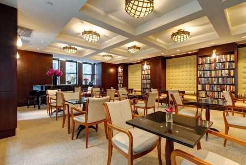 Guests of the Library Hotel are welcome to enjoy the Reading Room, located on the 2nd Floor, anytime of day.