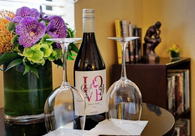 Choose the perfect bottle from our additional wine selection when making your reservation!