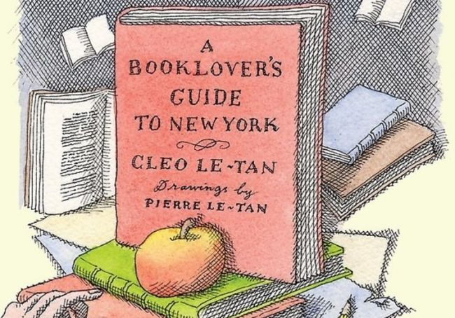 A Booklover's Guide to New York Cover
