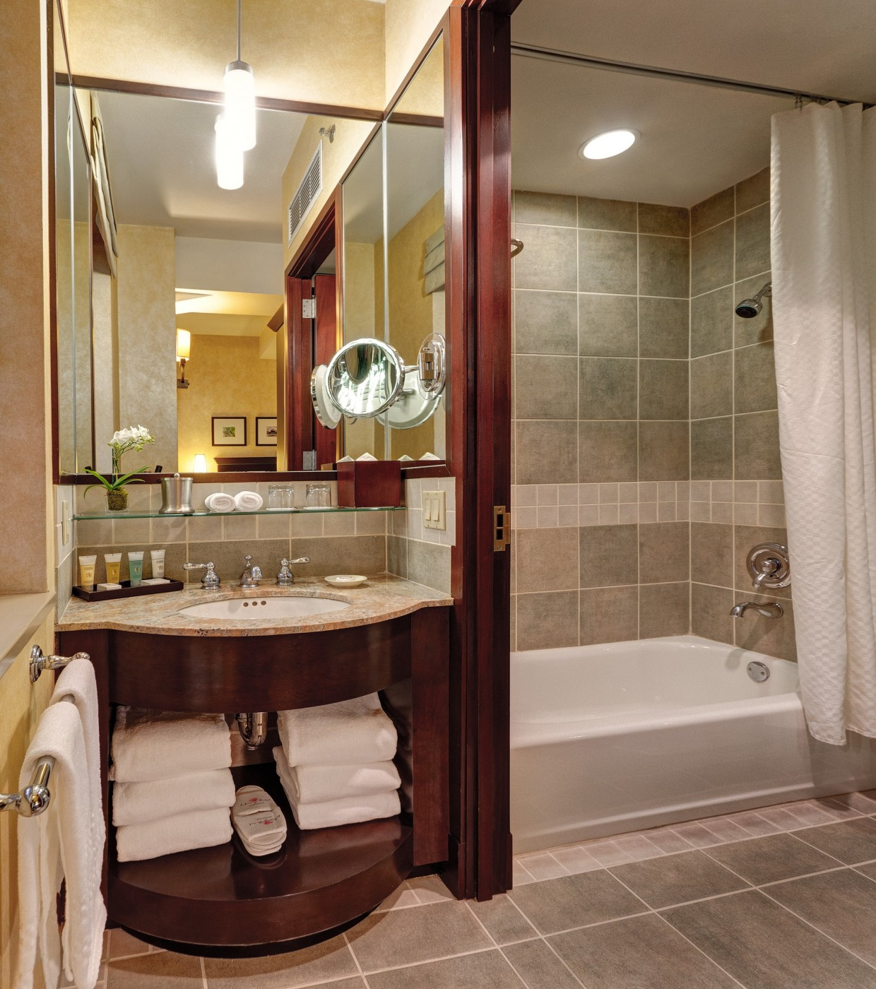 Our Petite Rooms Have A Separate Sink And Bathroom Area And Gilchrest U0026  Soames Bath Amenities.