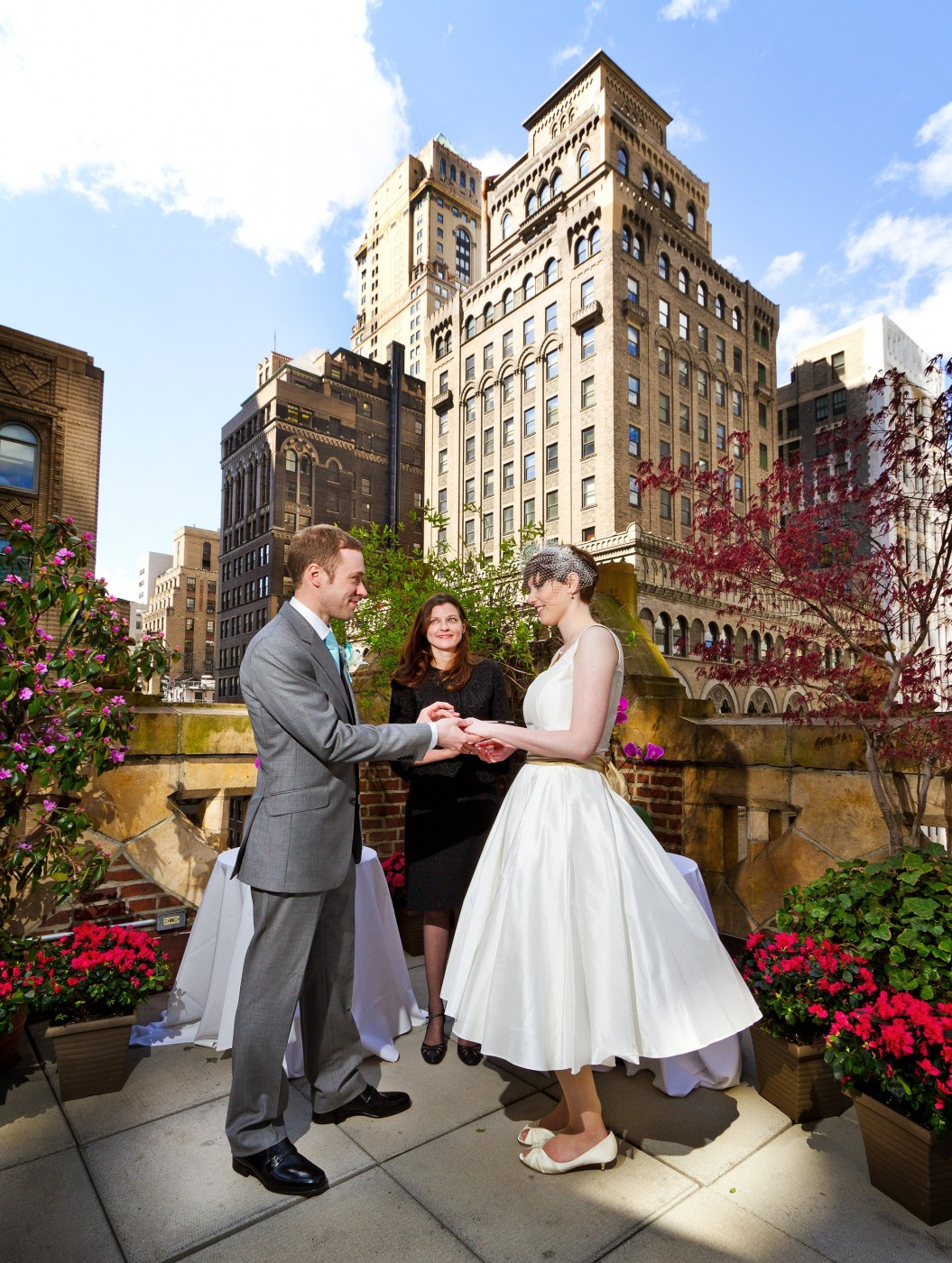 The Poetry Garden Has Been Venue To Many Beautiful Intimate Nyc Weddings